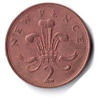 Великобритания. 2 новых пенса. 1978 г.