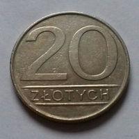 20 злотых, Польша 1984 г.