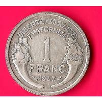 18-23 Франция, 1 франк 1947 г.