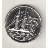 Каймановы острова 25 цент 2013