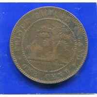 Канада 1 цент 1871 , Остров Принца Едварда , Victoria
