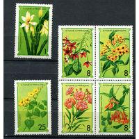 Сан Томе и Принсипи - 1979 - Цветы - [Mi. 568-573] - полная серия - 6 марок. MNH.