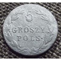 Польша. 5 грошей 1819