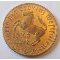10000марок 1923г.UNC