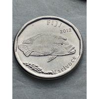 Фиджи 50 центов 2012 Рыба Корабль