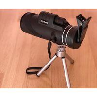 Зрительная труба, оптический прибор, монокуляр MaiFeng 40x60 со штативом