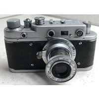 Фотоаппарат Зоркий-С 1957 г. с выдвижным объективом Индустар-22 исправный