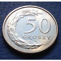 Польша 50 грошей 2018