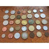 Весь мир 35 монеты.