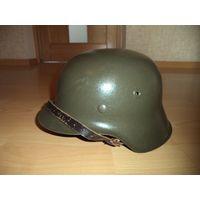 Немецкая каска (шлем) м42 68/60-61 ВОВ, ВМВ, Третий Рейх на реконструкцию