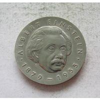 Германия - ГДР 5 марок 1979 100 лет со дня рождения Альберта Эйнштейна