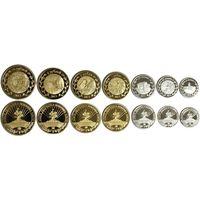 АДЫГЕЯ НАБОР 7 монет 2013 ФАУНА ПТИЦЫ НАСЕКОМЫЕ ЖИВОТНЫЕ