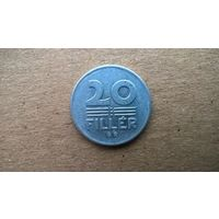 Венгрия 20 филлеров, 1983г.  (Б-3)