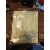 Лот с рубля - 189 планшет для карты армейский Ссср Без минимальной цены Большой Аукцион!
