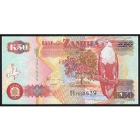 ZAMBIA/Замбия_50 Kwacha_2008_Pick#50.g_UNC