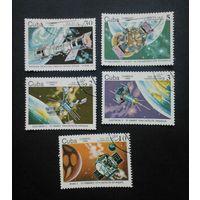 Куба 1985. Космос. (5 марок)
