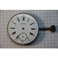 Старинный механизм, диаметр 4.7 см. С РУБЛЯ АУКЦИОН!!!