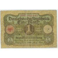 Германия, 1 марка 1920 год.