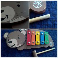 Ксилофон ''Медведь'' 5 тонов