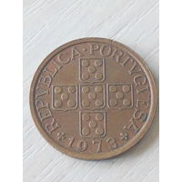 Португалия 50 сентаво 1973г.