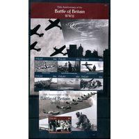 Авиация Второй Мировой войны Палау 2015 год 1 малый лист и 1 блок (М)
