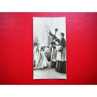 Миниатюрная открытка. 16.04.1944г.