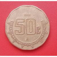 64-24 Мексика, 50 сентаво 1992 г.