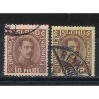 Дания Исландия Уния 1931 Христиан X Стандарт #161