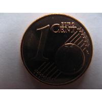 Финляндия 1 евроцент 1999г. UNC!