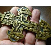 """Крест """"Распятие Христово"""". ЭМАЛИ"""
