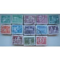Марки ГДР 1980 г. Архитектура Берлина. Стандарт. Цена за 1 марку (g)
