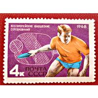 СССР, 1968г., Всеевропейские юношеские соревнования