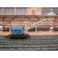 Железнодорожный кран MARKLIN. Масштаб HO-1:87.