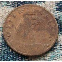Австрия 1 грош 1935 года. Орел.