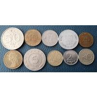 10 разных монет одним лотом. Лот 5