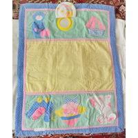 Развивающий коврик для малышей-размеры 85-65см, б/у
