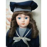 Фарфоровая кукла. Репро. Клеймо.
