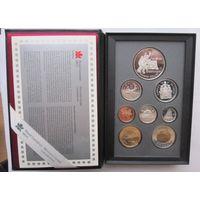 Канада, набор, 1997, серебро, пруф
