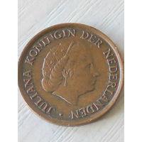 Нидерланды 5 центов 1980г.