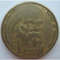 Австралия 1 доллар 1996 г. 100 лет со дня смерти сэра Генри Паркса (d)