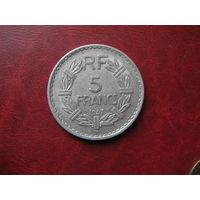 5 франков 1947 год В Франция
