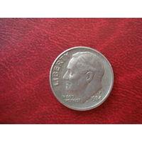 10 центов 1984  год США P