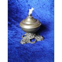 Декоративная лампада латунь