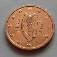 1 евроцент, Ирландия 2012 г., AU