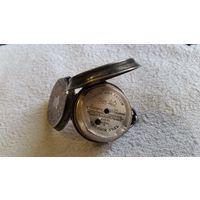 Серебряные трех крышечные часы 4.8 см   под ключ