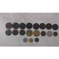 19 монет одним лотом