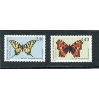 Андорра французская. Бабочки. Вып.1994
