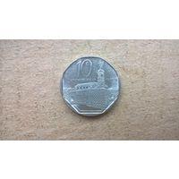 Куба 10 сентаво, 2002г. (U-обм)