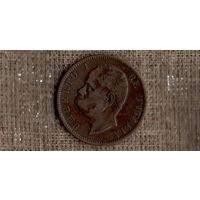 Италия 10 чентезимо 1894  /Умберто 1/(М*)