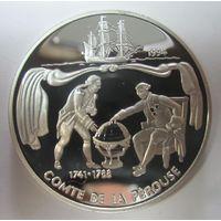 Самоа и Сисифо. 10 тала 1994. Жан-Франсуа де Лаперуз. Серебро (272)